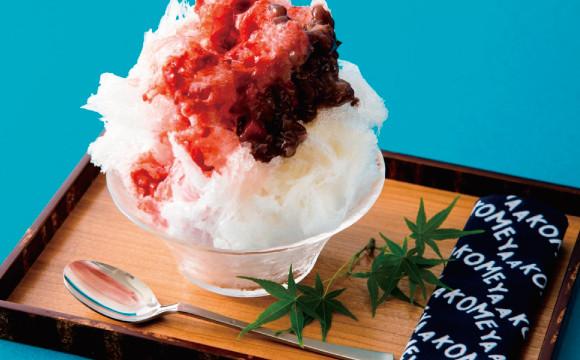 使用日光天然冰製作的「天然冰刨冰」將在AKOMEYA限量開賣!