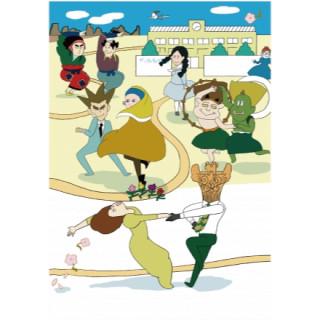 世界「びじゅつ(美術)」變成動畫。人氣節目「びじゅチューン」商品展在銀座LOFT