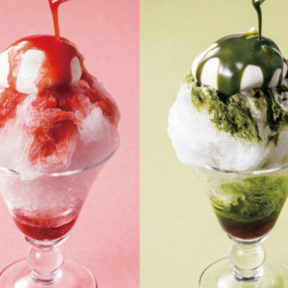 「Yokumoku青山本店」推出使用第四代德次郎「天然冰」的蓬鬆抹茶刨冰!