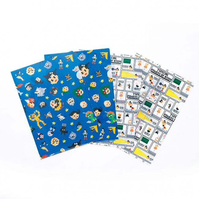 クリアファイルセット(¥300)