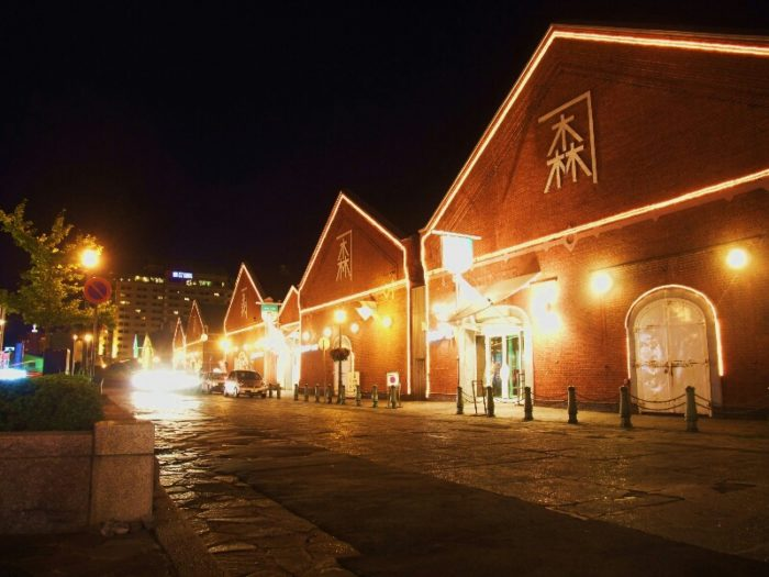 金森倉庫夜景
