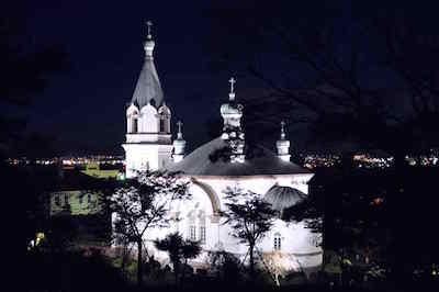 函館哈利斯特斯東正教堂/函館ハリストス正教会