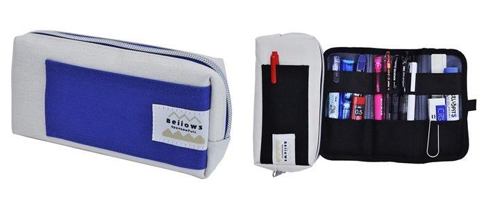 Bellows 機能性筆袋