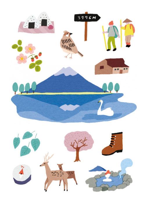 富士山旅郵樂趣本封面