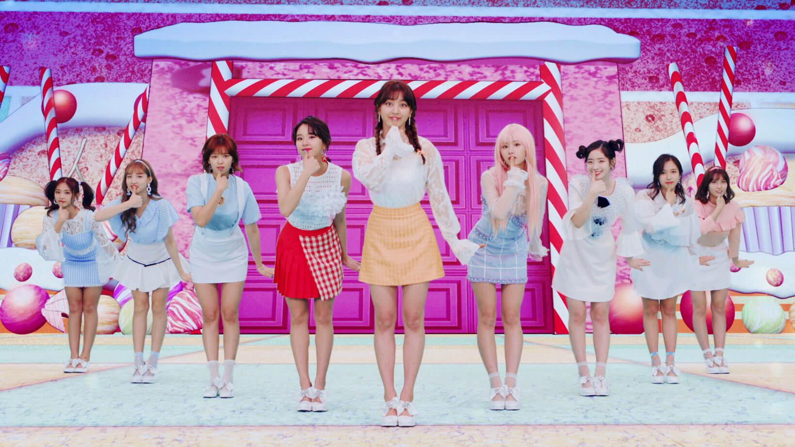 """TWICE新歌「Candy Pop」的""""動畫×實拍""""MV公開"""
