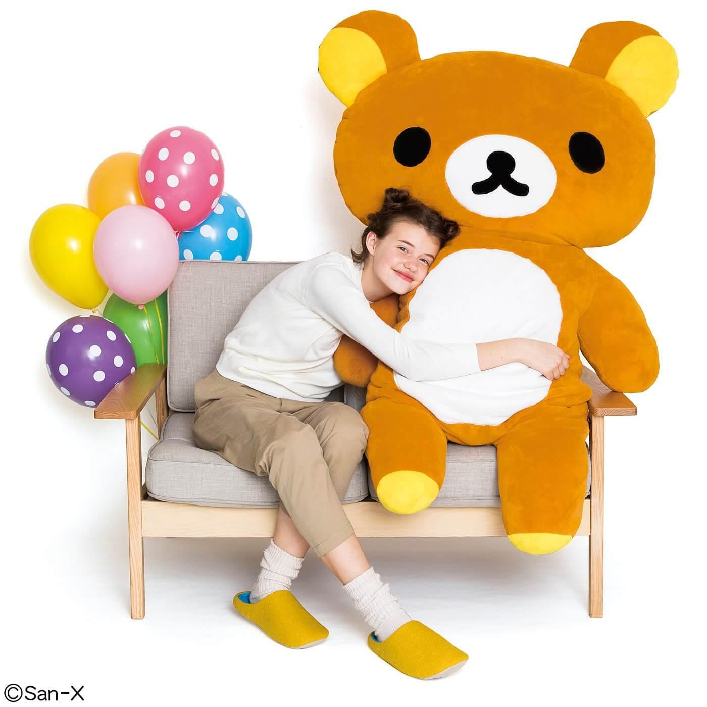 真人大小的懶懶熊!FELISSIMO和懶懶熊的合作雜貨新商品