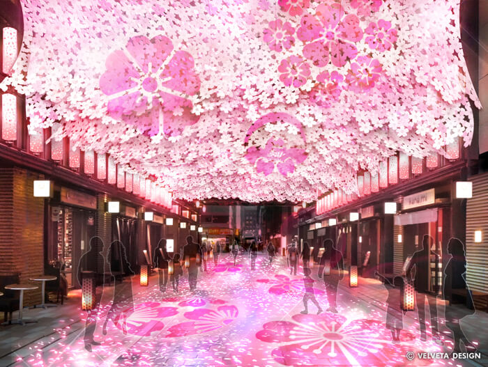 東京・日本橋「日本橋 桜フェスティバル」