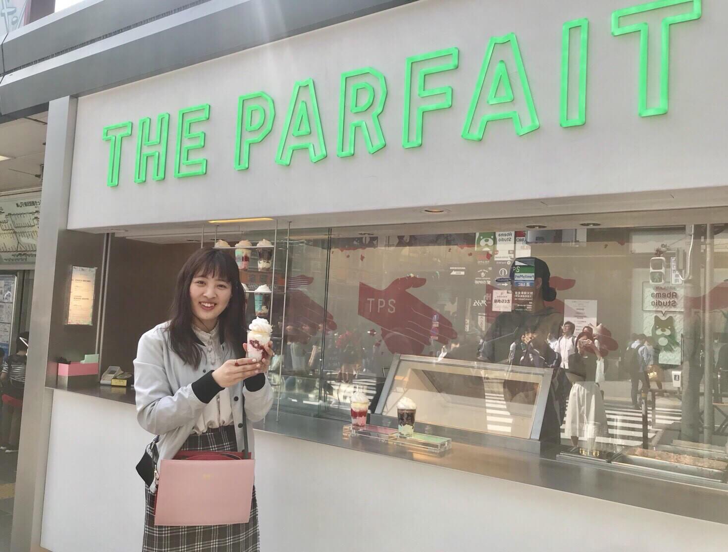 テイクアウトパフェ専門店「THE PARFAIT STAND」原宿2