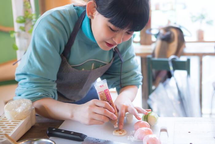 ゆりっぱの趣味を探す旅 #3 色とりどりの手毬寿司レッスン4