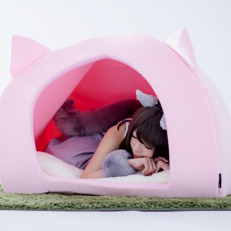 人間用ペットハウス  BIBI LAB(R)(ビビラボ) 猫