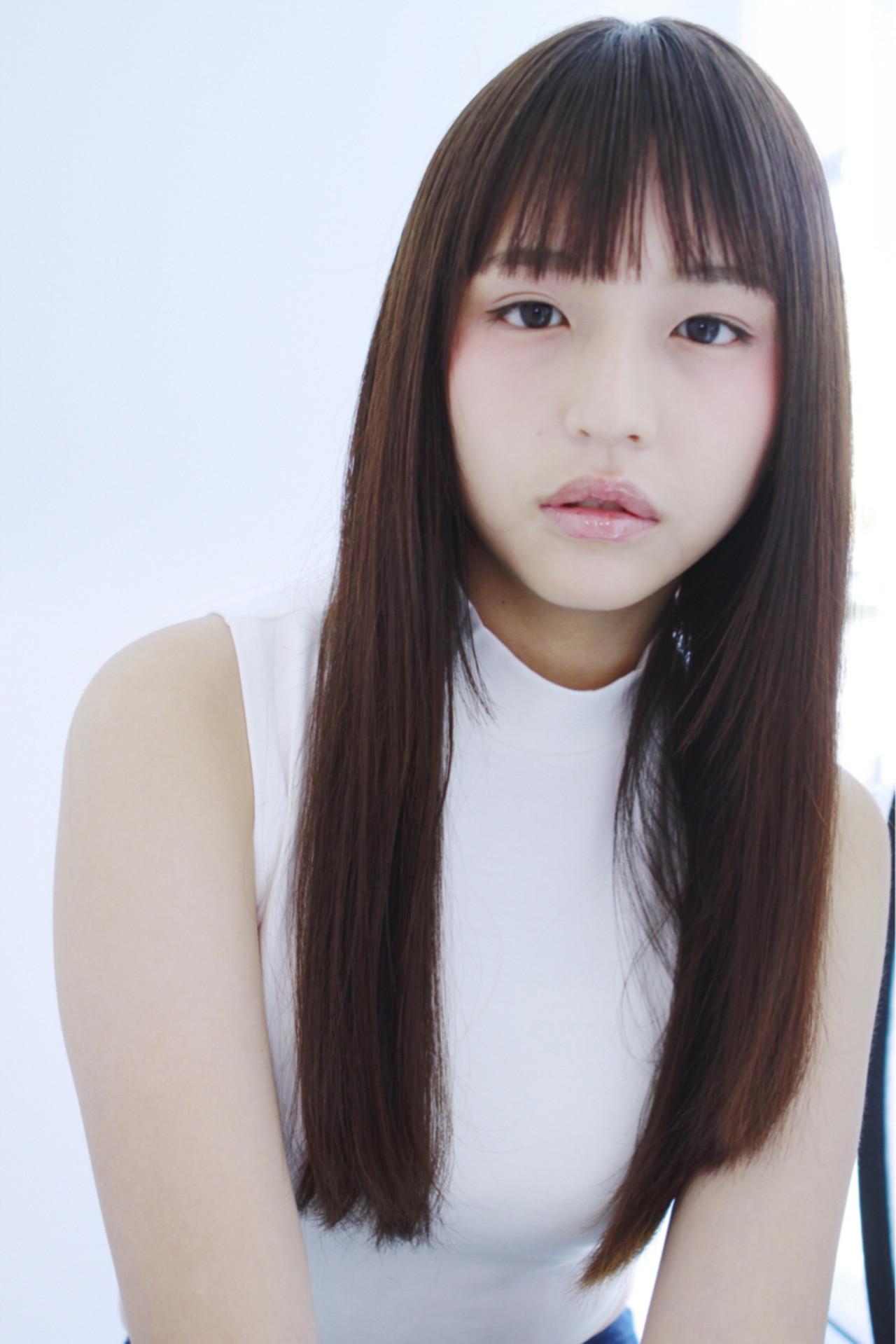不敗的長直髮造型・土屋太鳳風 Asuka Suzuki