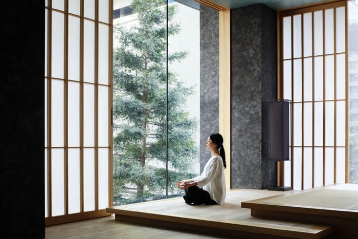 星のや東京「日本旅館で養生する2泊3日のスパプログラム・深呼吸養生」