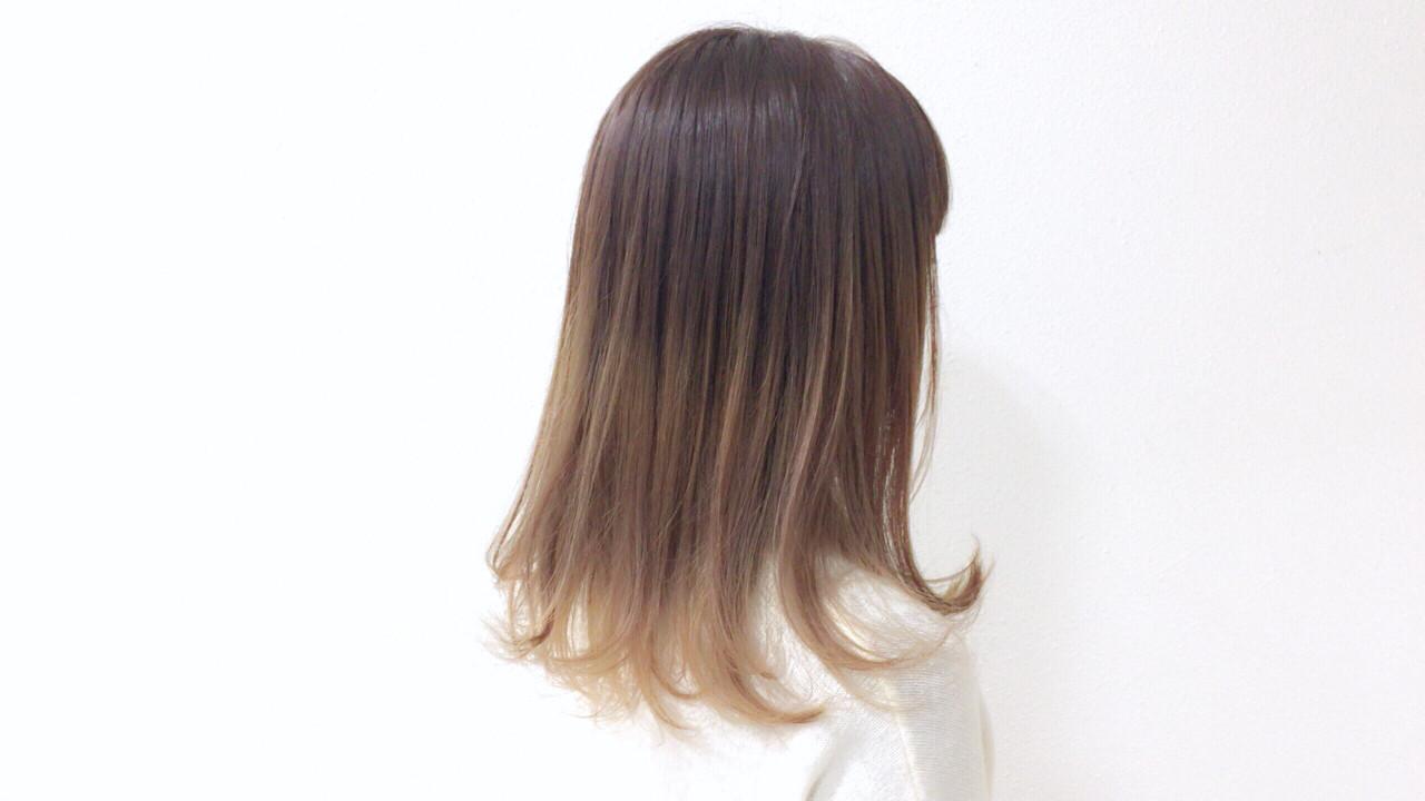 ブラウン・ベージュ系カラー・ミディアム Taniguchi Yukiko