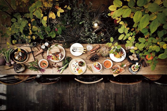 佇立於輕井澤森林中的素食餐廳「RK GARDEN」開幕
