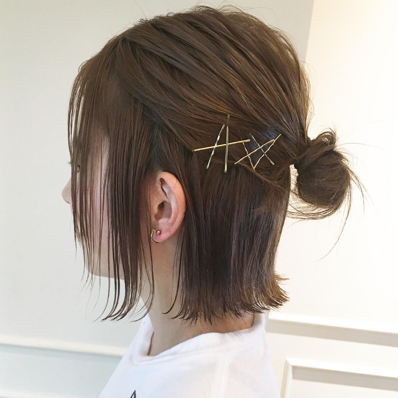 最愛直髮♡大人鮑伯的少女風髮型♪ YASHIMA HITOMI