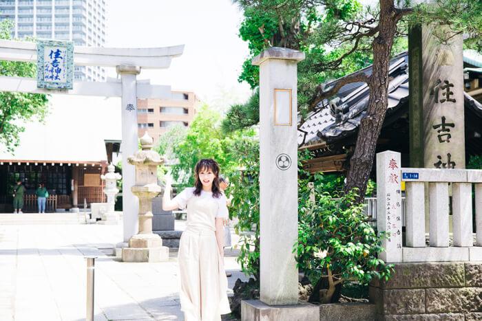 SILENT SIREN ひなんちゅ 住吉神社 サイサイ 鳥居