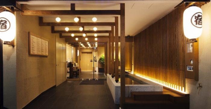 東京銀座BAY HOTEL大廳
