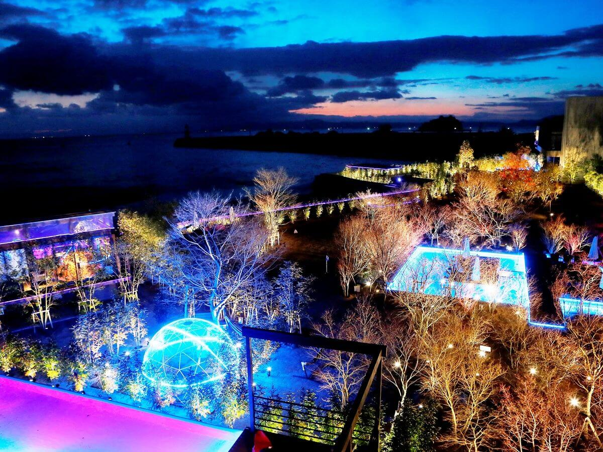 可以眺望整片有明海的無邊際泳池&露天風呂 在長崎「南風樓飯店」登場!